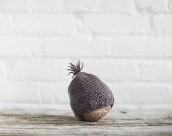 Baby | Newborn Short Cap, Hat Alpaca and Merino Wool