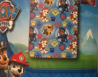 "PAW PATROL 40""x 50""  Personalized Kids Micro Fleece Throw  Blanket - Monogrammed"