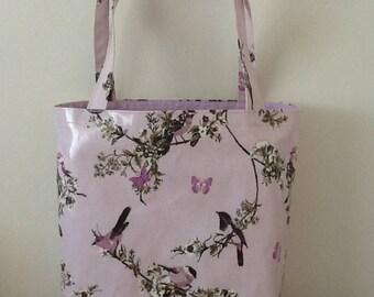 Oilcloth tote bag /shopper