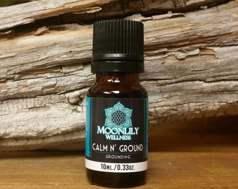 Calm n' Ground Essential Oil Synergy Blend