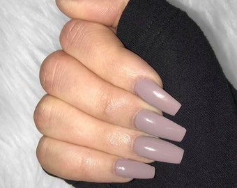 Mauve Nail Polish-In The Shade In St. Tropez