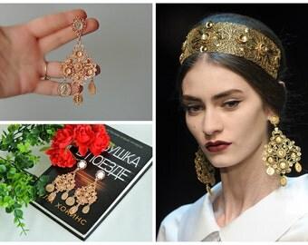 Earrings   DOLCE style - Filigree