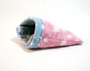 Guinea Pig Small Animal Fleece SNUGGLE SACK Bed Cosy Sock Pcoket