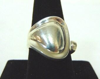 Vintage Estate Sterling Silver Ring 13.3g E1034