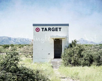 Texas photography, Marathon Target, Target, art installation, travel decor, Marathon Texas, Texas art, Texas decor, large wall art, West TX