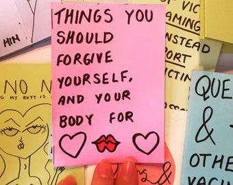 Love yourself Mini Zine
