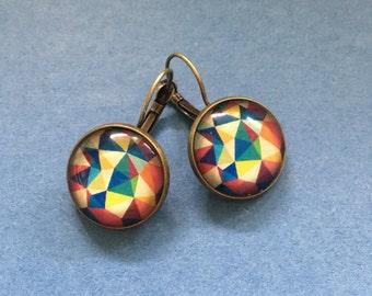 Earrings Geo