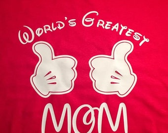 Worlds Greatest Mom T-Shirt