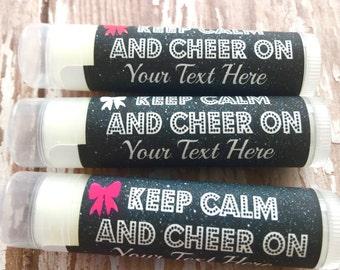Cheerleading Lip Balm/5Pc/Spirit Gift/Cheerleader Party/Cheer Team Party/Cheerleading Chapstick/Cheerleader Favors/Cheerleader Competition