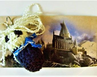 Luna Lovegood Harry Potter Bean Keychain - Crochet
