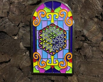 STS9 Stained Glass Pin