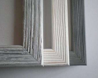 picture frame photo frame 13x19 frame 33x48cm choose colour rustic frame wood barnwood wood craft rustic wall decor rusticframeshop