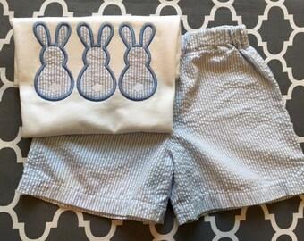 Bunny trio shorts set