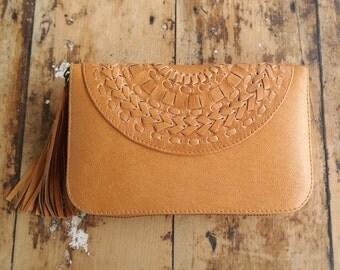 Leather wallet | mandala | passport wallet | ladies wallet | ladies purse