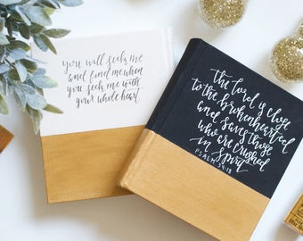 Hand Painted Bible // Simplicity Theme