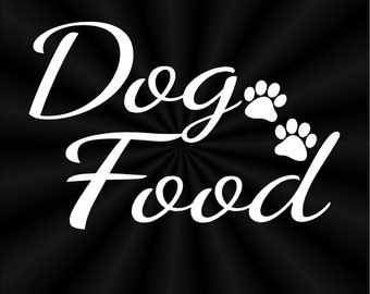 Dog Food Decals, Labels, Pet Food, Canister, Container, Vinyl Decals, Stickers 10818