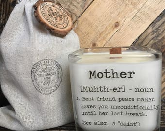 Soy Candle  / Mother's Day Candle / Mom Gifts / Gift's For Mother's Day Please note; delivery will be after Mother's day