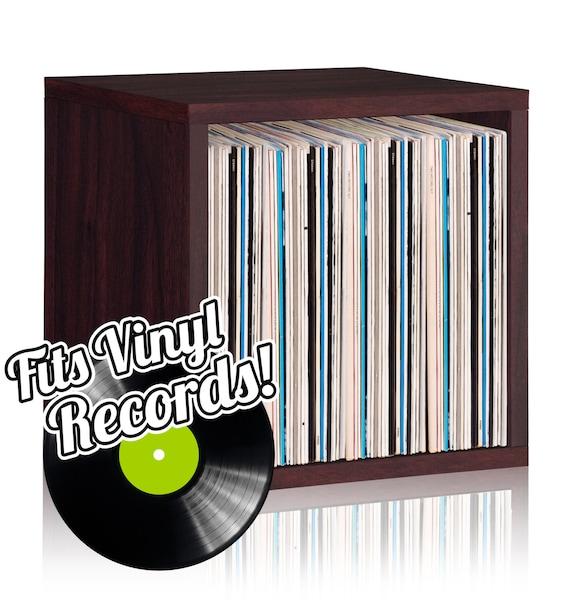 Vinyl Record Storage Cube Stackable Lp Record Album By
