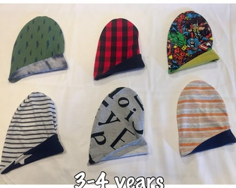 RTS Reversible Slouchy Beanie 3-4 years