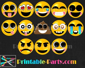 Emoji Digital Clipart Commercial Use