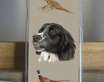 Spaniel Phone Case by Grace Scott