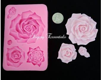 Large Rose Mold