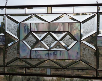 Items similar to Stained Glass Curtains on Etsy