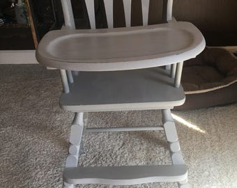 Vintage Baby High Chair