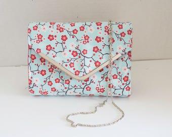 Cherry Blossom Inspired Clutch Bag