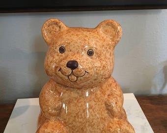 Avon Collectible Teddy Bear Cookie Jar