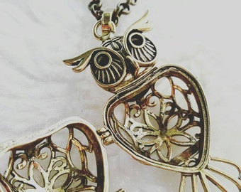 Minerva McGonagall Inspired Pearl Cage Pendant, Pick a Pearl Cage Disney, Pearl Cage Necklace, Harry Potter Locket, Hogwarts Locket Necklace