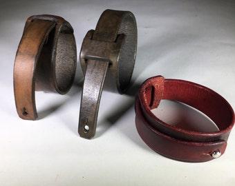 Custom Sized Leather Wrap Bracelets