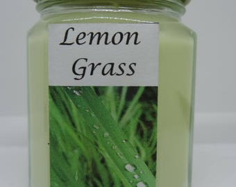 Lemon Grass - Soy Wax Candle