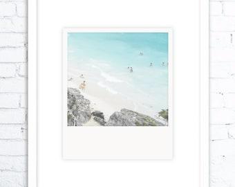 Wall Art Print, Digital Wall Art, Ocean Wall Art, Beach Art, Photo, Printable Large Poster, Digital Download, Coastal Decor, Ocean Wall Art