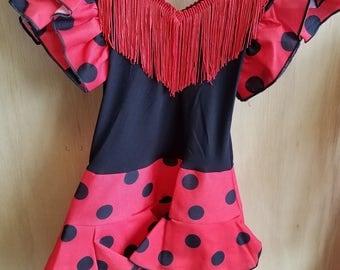 Little Girls Flamenco Dress