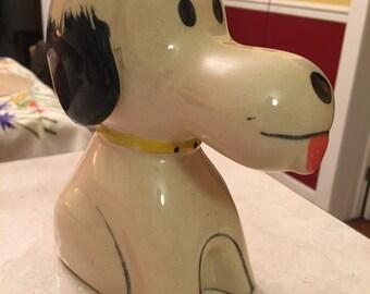 Vintage Snoopy ceramic piggybank