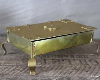 Brass Tray & Trinket Box