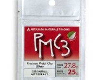 PMC3-16g-25g-Precious Metal Clay-PMC-Jewelry Supplies-Silver clay