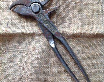 Antique Pazzano Wrench Co Battery Terminal PLIERS | pliers | autombile pliers