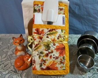 Fall Leaves Pot Holder Gift Set