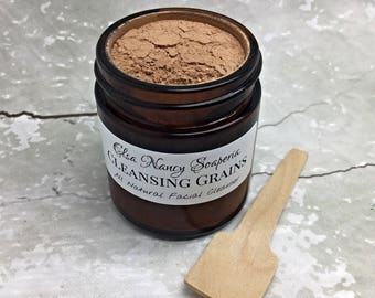 Cleansing Grains , Gentle Facial Polish, Gentle Facial Scrub , Face Cleanser