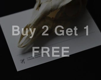 Buy 2 Postcards - get the 3rd for FREE