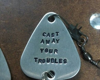 Fishing Lure - personalized - custom engraved gift, father's day gift - bass fishing accessories for any outdoors sportsman