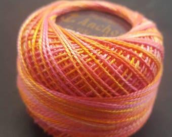 Anchor Crochet Pearl Cotton 10g – Fruit Salad