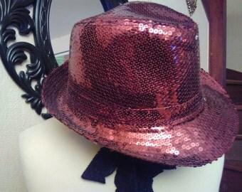 Color copper glitter hats