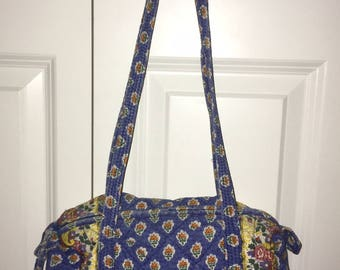 Woman's Quilted Fabric Purse