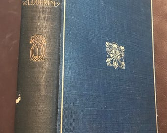 Book: The Literary Man's Bible by W.L. Courtney (1908). Lovely little item!