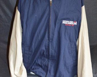 Vintage National Postal Mailhandlers Union Coat Jacket (Size: L)