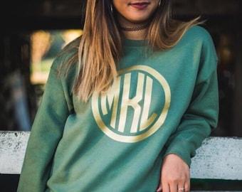 Sale***Large Monogrammed Sweatshirt