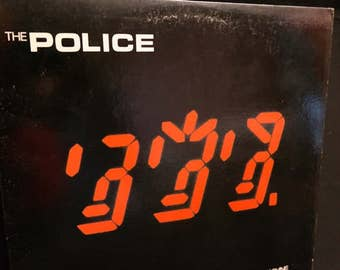 The Police- Ghost in the Machine- Vinyl LP Record- 1981- Classic Punk Rock -Sting- Spirits in the Material World
